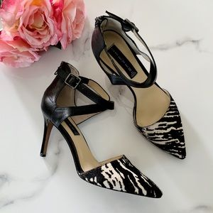 STEVEN By Steve Madden Alicia P Calf Hair Pump 8.5
